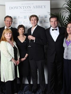 An evening with Downton Abbey – raising money for Merlin