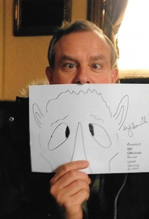 Downton Abbey stars draw 'Save the Rhino' sketches to help save endangered animal