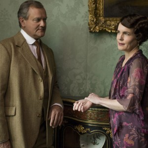 A chat with Downton's longest-running lovers