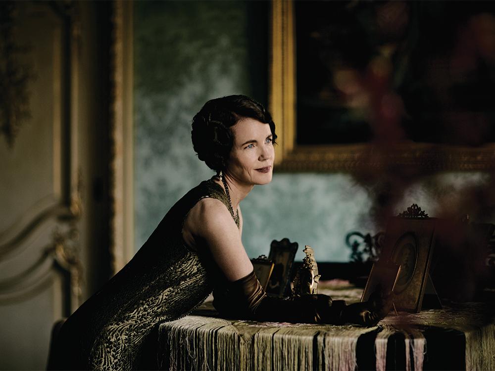 """Cora's finding herself as an independent woman,"" says Elizabeth McGovern. ""She's becoming more forthright and pursuing her own interests with more confidence."""