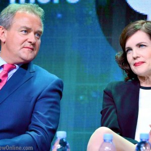 Downton Abbey: Hugh Bonneville, Elizabeth McGovern & the end