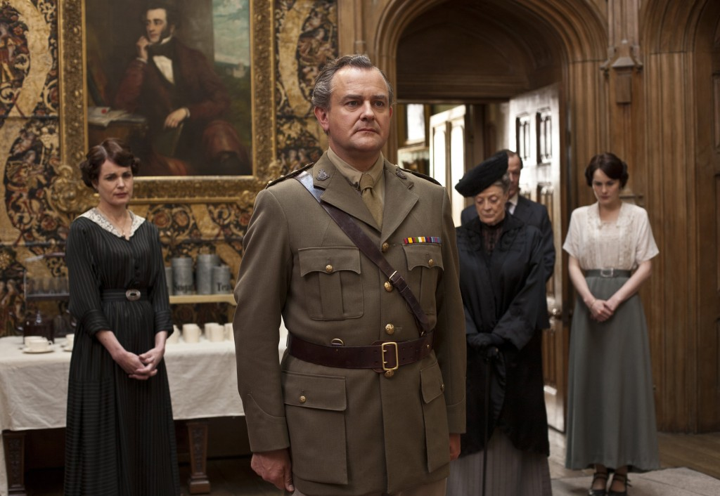 Hugh as Lord Grantham in Downton Abbey