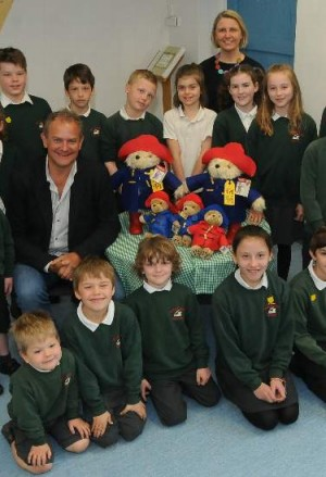 Hugh tells pupils of the bear essentials of film