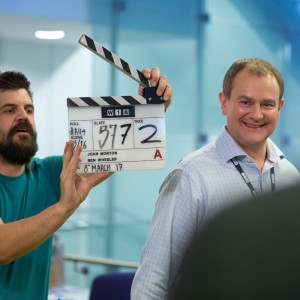 W1A: Hugh Bonneville on BBC sitcom, Downton Abbey movie and selfies