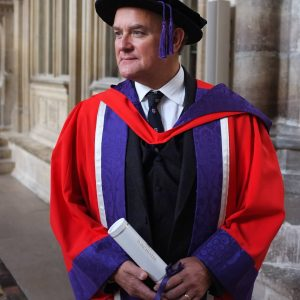 Students and celebrities come together for Winchester University graduation